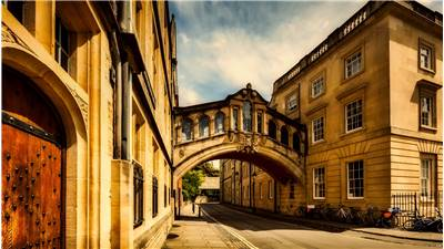 Bridge Of Sights Oxford Great Britain