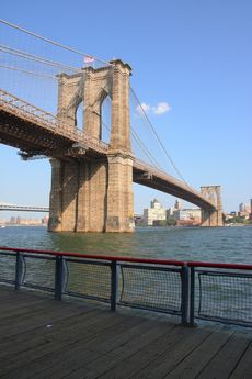 Brooklyn Bridge Suspension Bridge