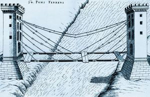 Cable Stayed Bridge by Fausto Veranzio