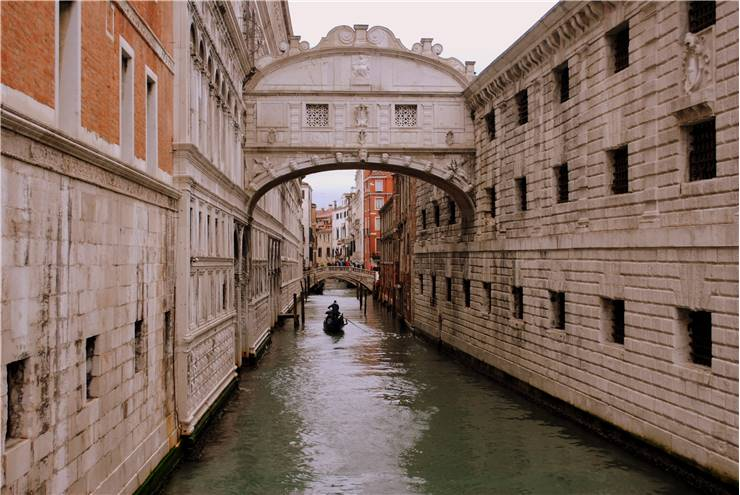 Famous Bridge Of Sighs
