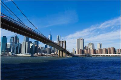 Famous Brooklyn Bridge