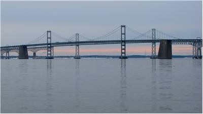 Famous Chesapeake Bay Bridge