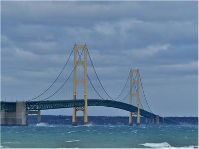 Famous Mackinac Bridge