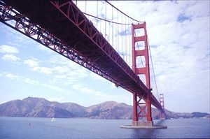 Golden Gate - Sea Bridge