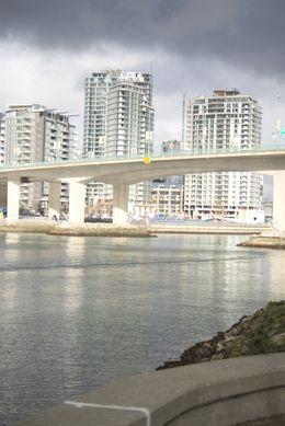 Half Lit Vancouver Bridge