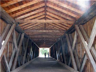 Howe Truss Jay Bridge