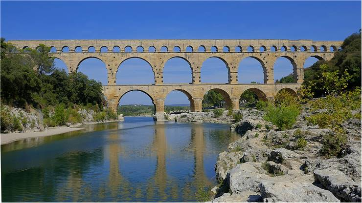 Pont Du Gard France Bridge