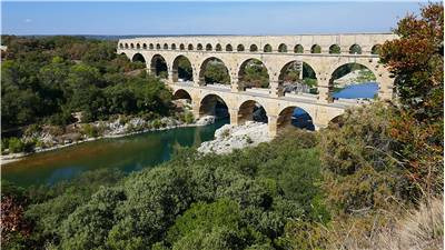 Pont Du Gard Roman Bridge