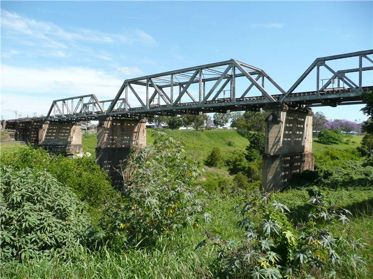 Pratt Truss Gatton Railway Bridge