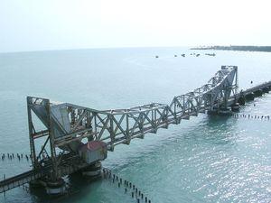 Railway Bridge in India - Moveable Type of Bridge
